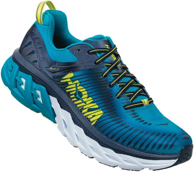 Hoka One One M's Arahi 2 Running Shoes caribbean sea/dress blå